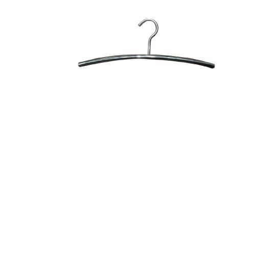 Ceintre en inox, vendu par set de 2/Hanger, stainless steel, sold set of 2