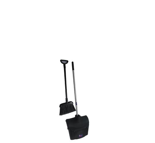 Ensemble balai et pelle, grand mod�le/Brush and dustpan set, large model