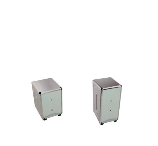 Distributeur de papier essuie-main en inox/Paper towel dispenser, stainless steel