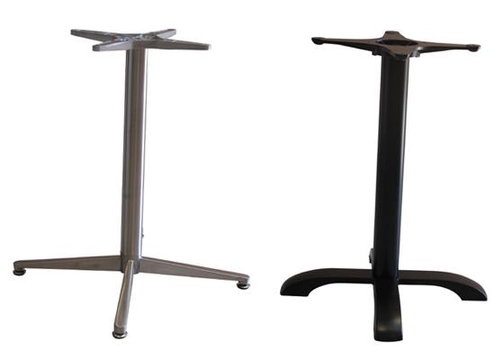 Pied de table pour tops Max Diam. 80 et 80×80 cm