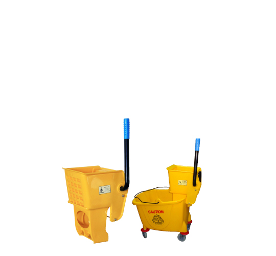 Seau et presse pour ménage/Bucket and press for floor cleaning