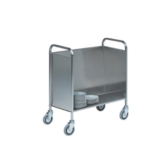 Chariot de transport pour assiettes