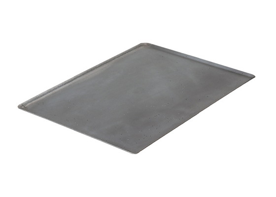 Plaque bords pincés en tôle d'acier