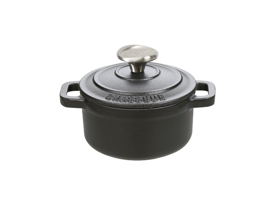 Cocotte ronde noire